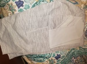 Pants - Light blue/grey Lululemon size 8 yoga pants